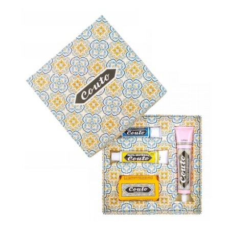 Couto - Coffret nº4 (pack: toothpaste, deodorant, moisturizer and soap)
