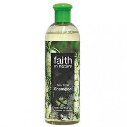 Tea Tree Shampoo 250ml / 400ml (Faith in Nature)