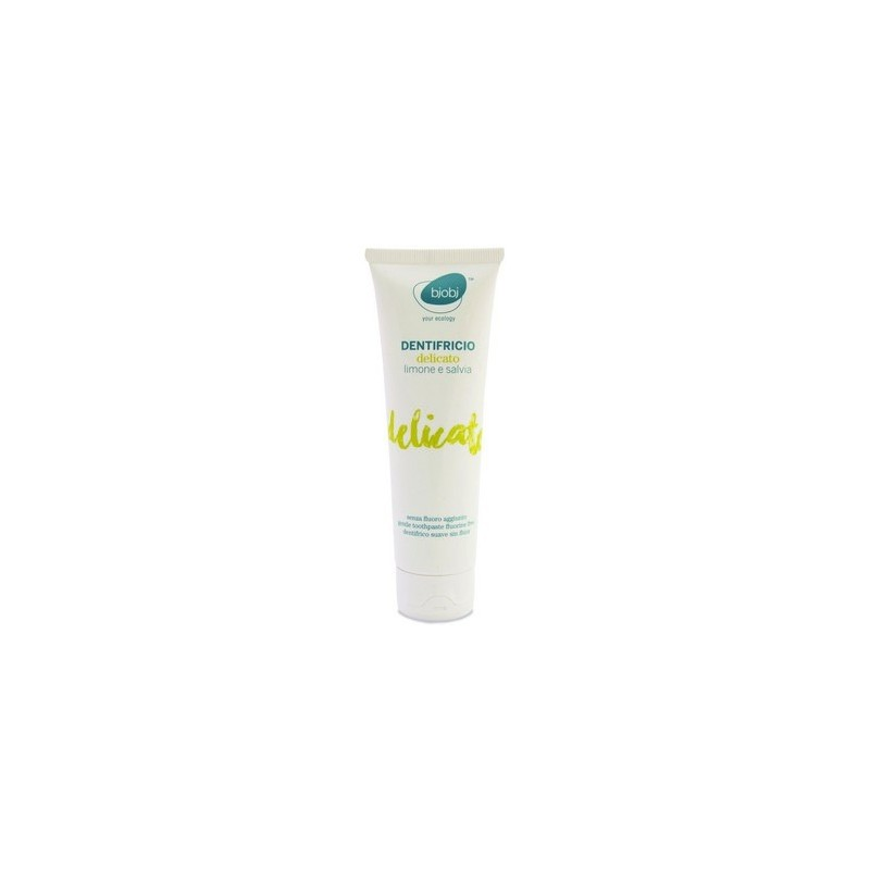 Bjobj - White clay toothpaste (lemon and sage) 75ml