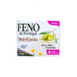 Feno de Portugal - 4x sabonetes Óleo de Oliva e Camomila Nutricuida (4x90g)