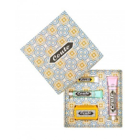 Couto - Coffret nº3 (Pack: toothpaste, hand cream, moisturizer and soap)