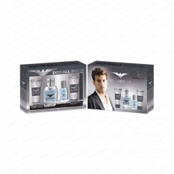 DURALL Collection Islanders PACK EDT 100ml + EDT 15ml + Gel Duche 50ml + After Shave 50ml (homem)