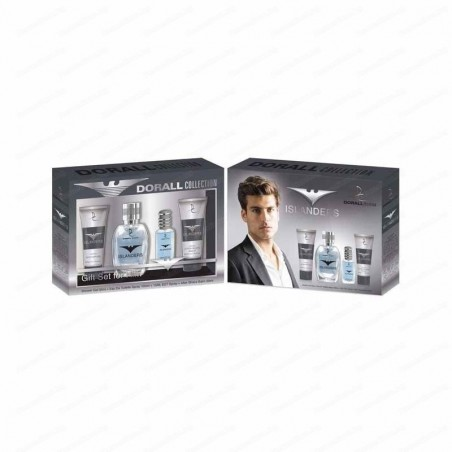 DURALL Collection Islanders PACK EDT 100ml + EDT 15ml + Shower Gel 50ml + After Shave 50ml (men)