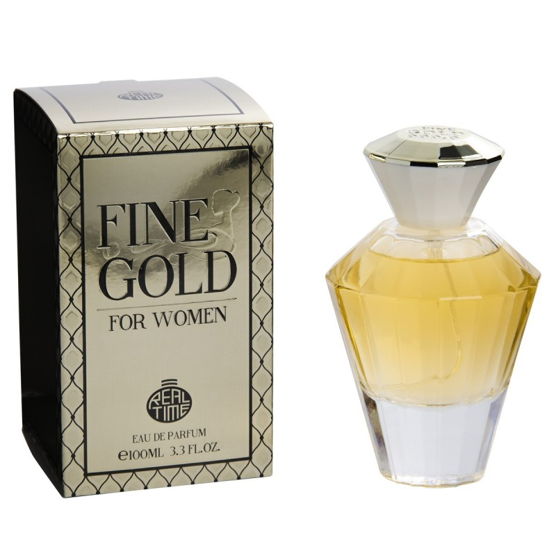 Real Time - FINE GOLD 999.9 100ml edt