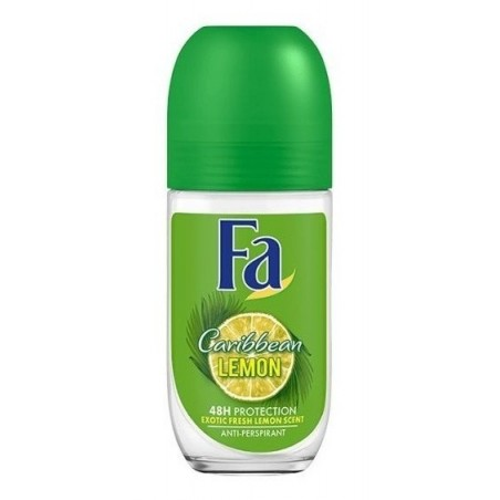 Fa - deo Roll On - Caribbean Lemon 48h 50ml