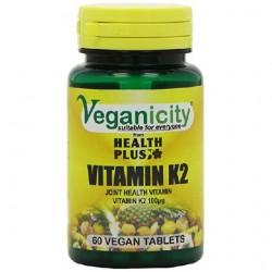 Veganicity - Vitamina K2 - 100ug (60 comprimidos)