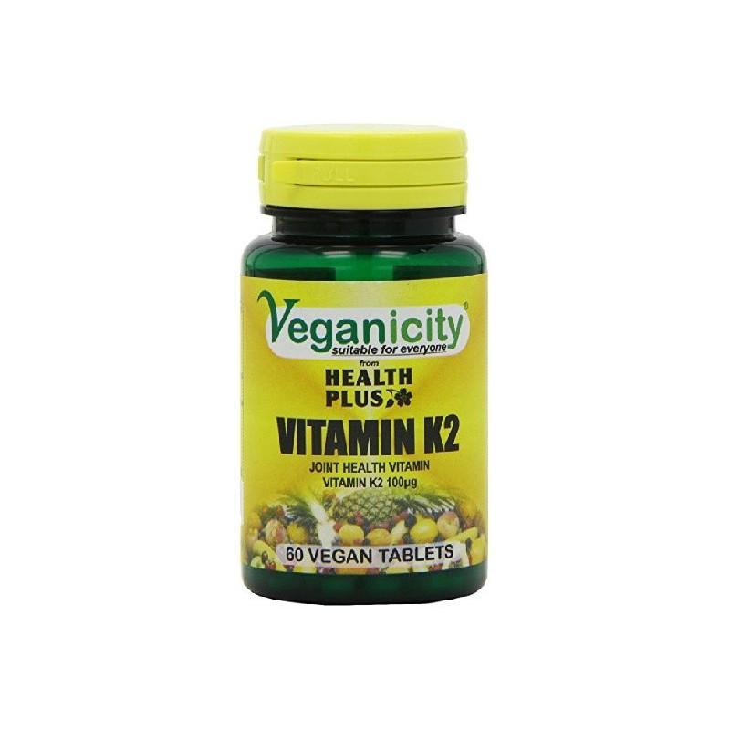 Veganicity - Vitamin K2 - 100ug (60 tablets)