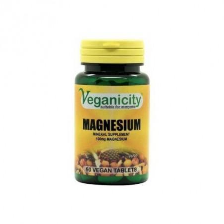 Veganicity - Magnésio 100mg (90 comprimidos)