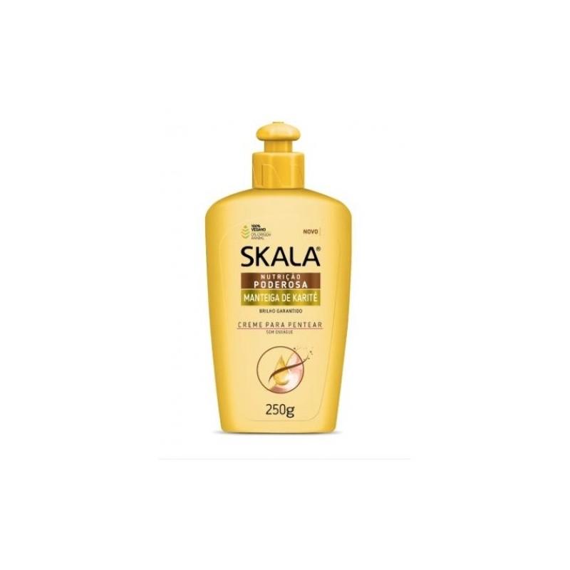 Skala - Karité, Crema para Peinar, Nutrición Potente 250g