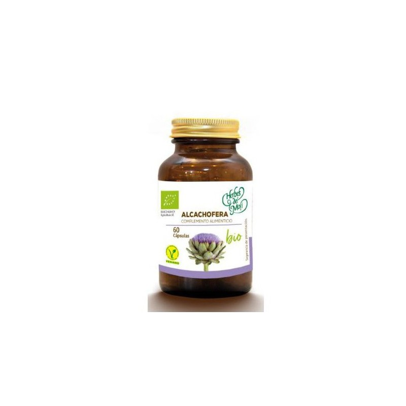 Artichoke, Bio / Vegan Supplement (60 capsules) - Herbes Del Moli