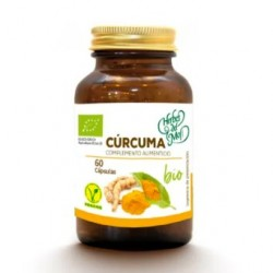 Curcuma, Bio / Vegan Supplement (60 capsules) - Herbes Del Moli