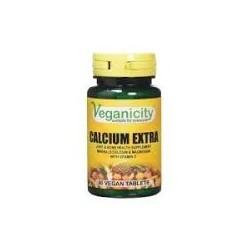 Veganicity - Cálio Extra (30 comprimidos) c/ magnésio e vitamina D