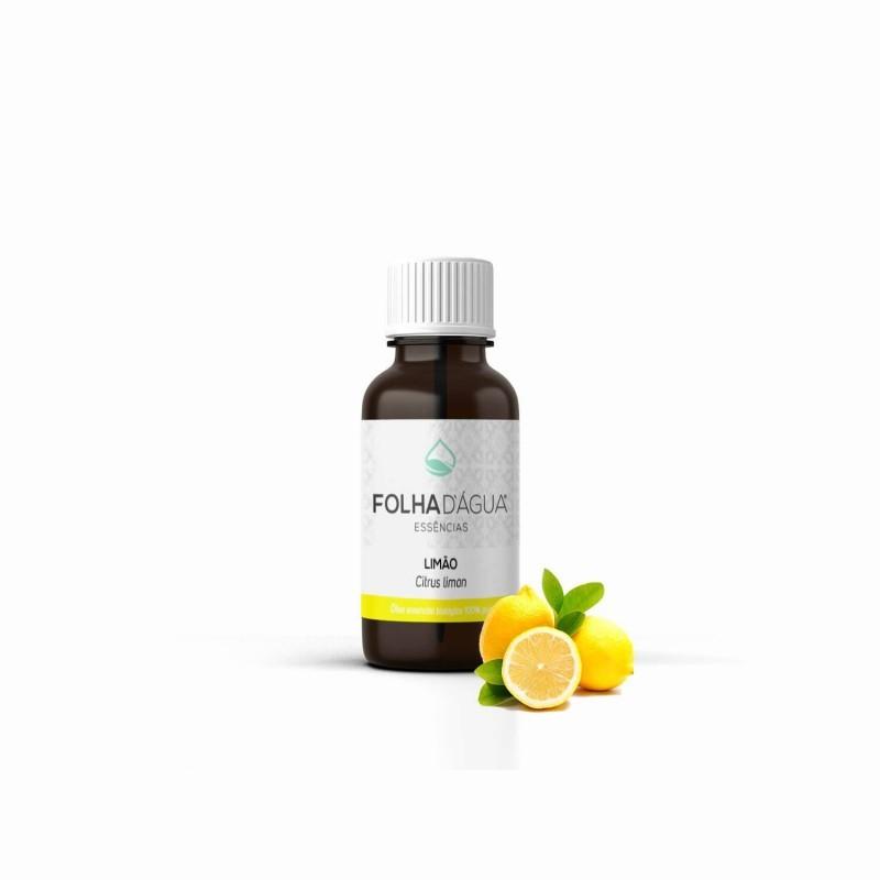 Óleo Essencial de Limão Biológico 10ml (Folha d`Água)