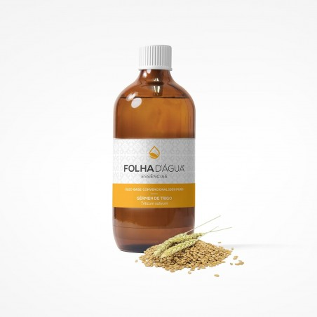 Vegetable Wheat Germ Oil 100ml (Folha d`Água)