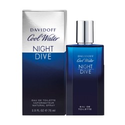 DAVIDOFF cool water, night...
