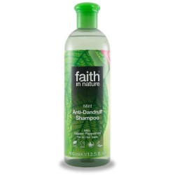Faith in Nature - Champô de Menta (anti-caspa) 400ml