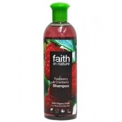 Champô Framboesa e Arando 250ml/ 400ml (Faith in Nature)
