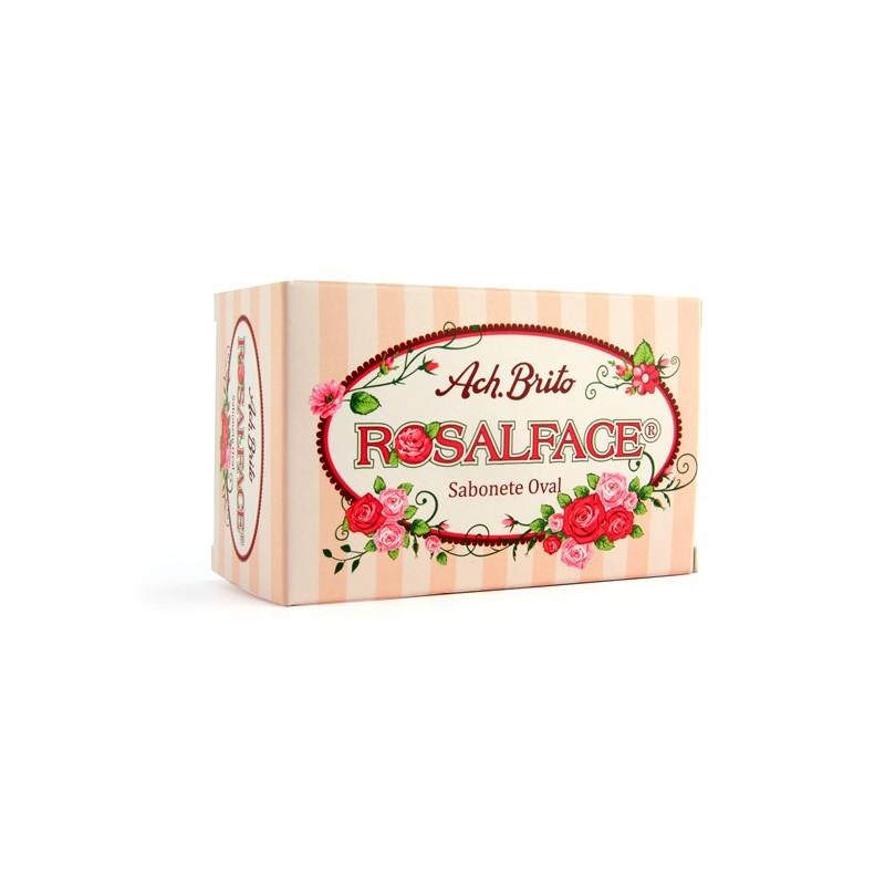 Ach Brito - sabonete oval ROSALFACE 150g