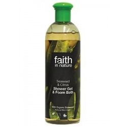 Gel Duche & Espuma de Banho de Algas e Citrinos 250ml/400ml (faith in nature)