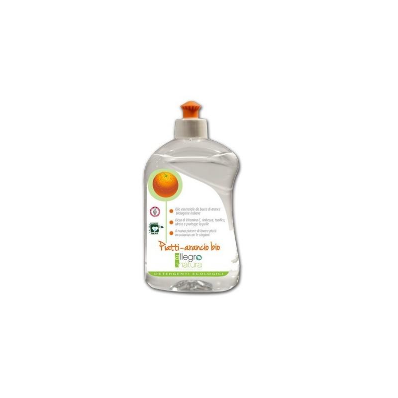 Detergent Dish Orange Bio 500ml - Allegro Natura