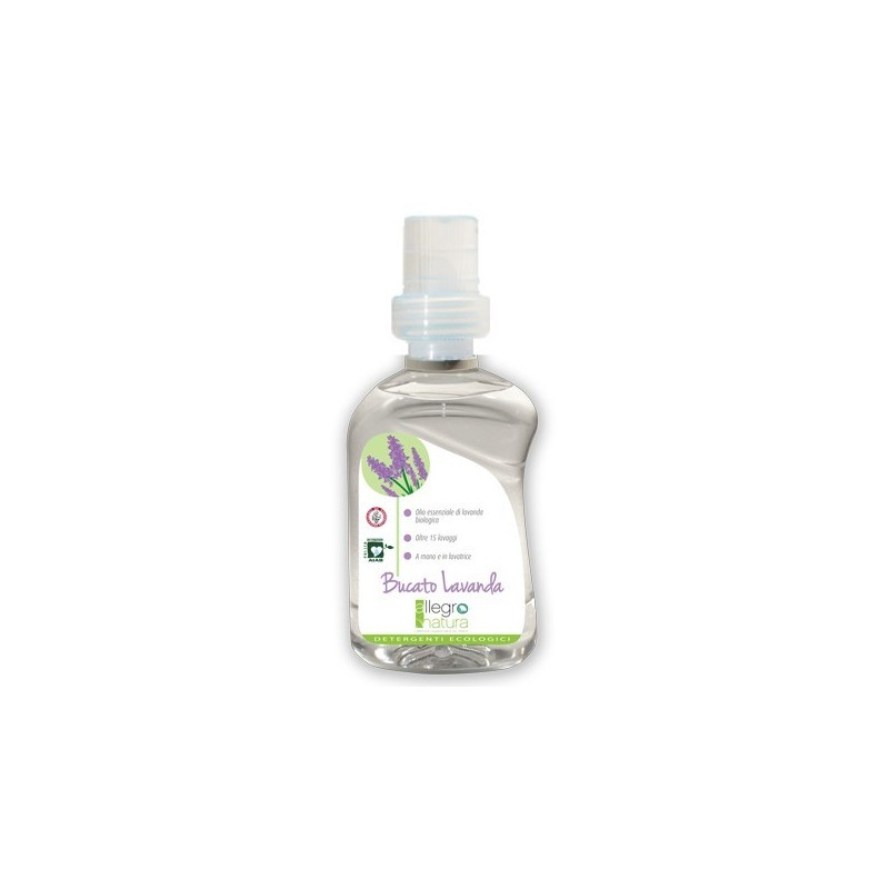 Lavender Concentrated Laundry Detergent 500ml - Allegro Natura