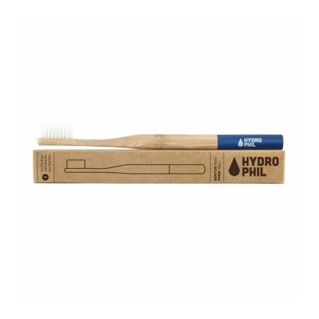 Hydro Phil - escova de dentes Bambu/ macia - Azul Escuro
