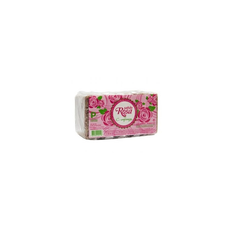 Confiança - Offenbach Rose Soap 500g (pack 5 x100g)