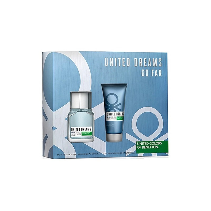 United Dreams, go far EDT 60ml + After Shave 50ml Man set UNITED COLORS OF BENETTON
